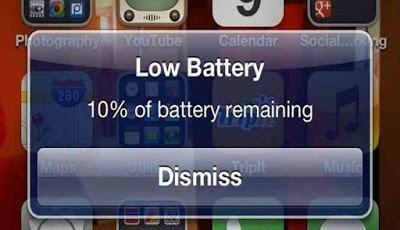 Baterai Android boros