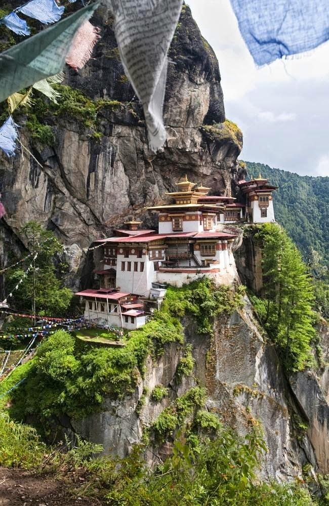 Rumah - rumah di Bhutan