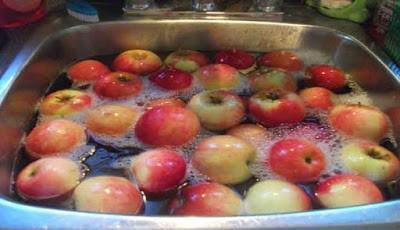 Cara Hilangkan pestisida dari buah dan sayuran
