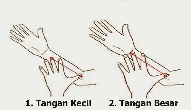 Menebak kepribadian dari ukuran tangan