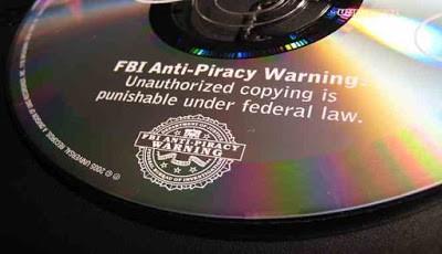 Logo Anti Pembajakan FBI