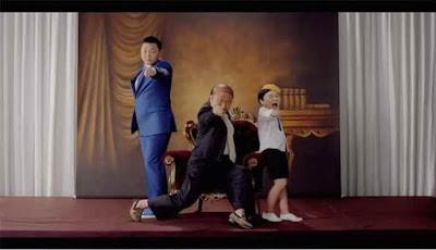 Video klip terbaru PSY Daddy