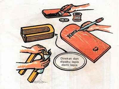 Cara membuat alat tulis sekolah