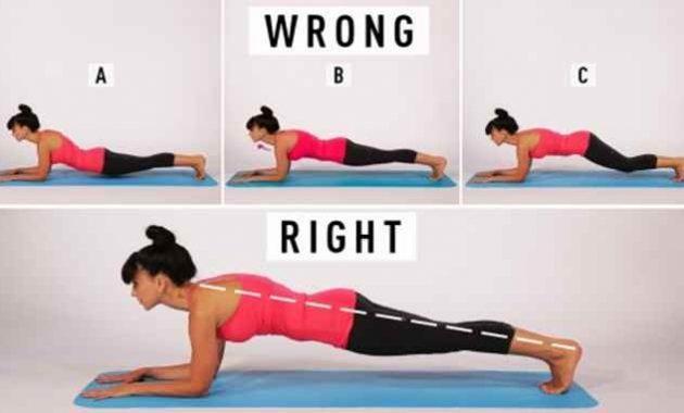 Gerakan plank