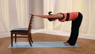 Gerakan peregangan punggung