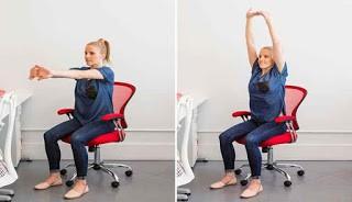 Gerakan peregangan punggung dan bahu