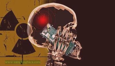 Pengaruh radiasi ponsel ke otak
