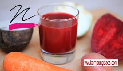 Jus Merah pembunuh sel kanker