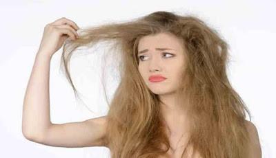 Masalah rambut kering pada wanita