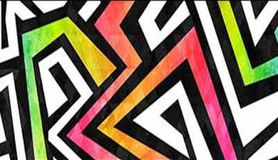 Lukisan dengan pola yang membingunkan