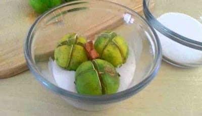 Irisan lemon