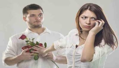 Wanita tidak tertarik pada pria