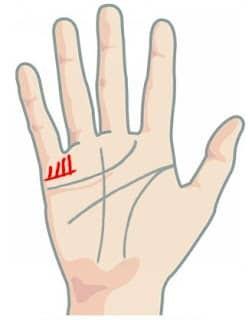 Garis tangan anak cowok