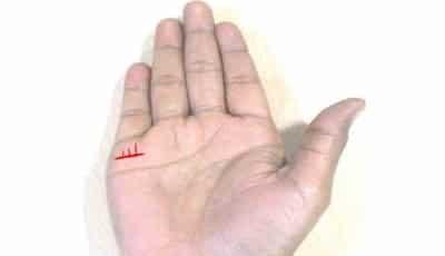 Garis tangan anak