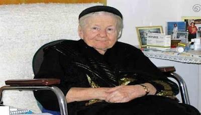 Irena Sendler di usia tuanya