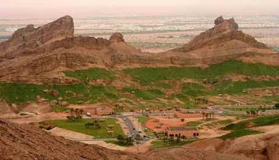 Pemandangan Jebel Hafeet