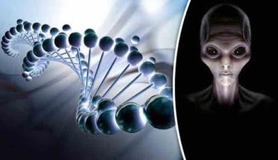 DNA manusia dan Alien