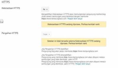 Cara Pasang HTTPS