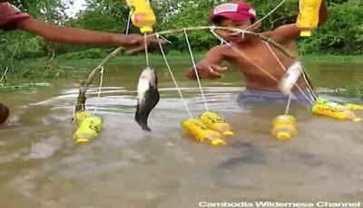 Cara membuat perangkap ikan