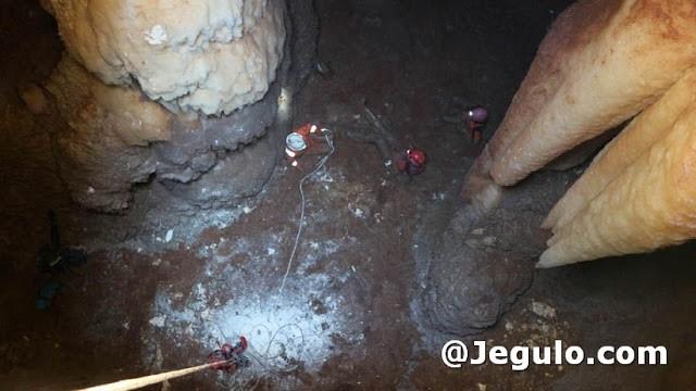 Penemuan gua baru di Desa Jadi Kec. Semanding Tuban