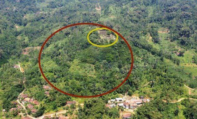 Piramida Gunung Padang Jawa Barat