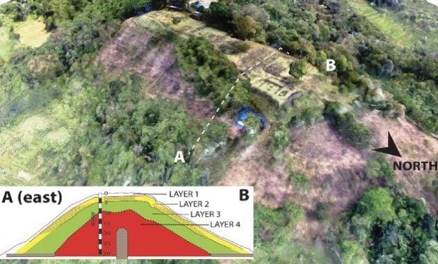 Struktu Piramida Gunung Padang Jawa Barat