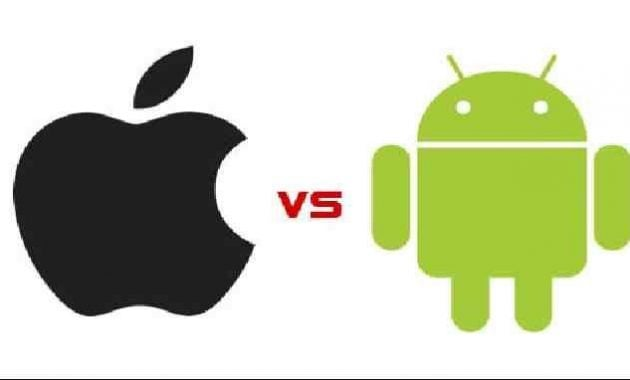 Android vs iPhone Aplle