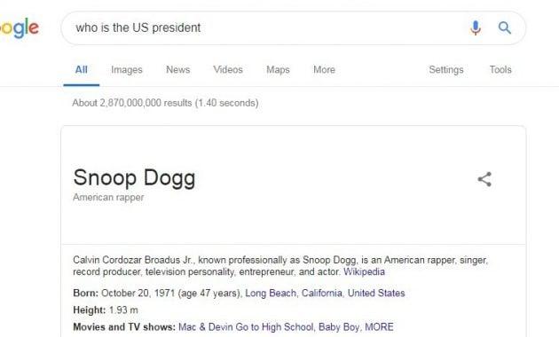 Bug atau Celah di Google