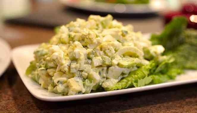 Salad telur
