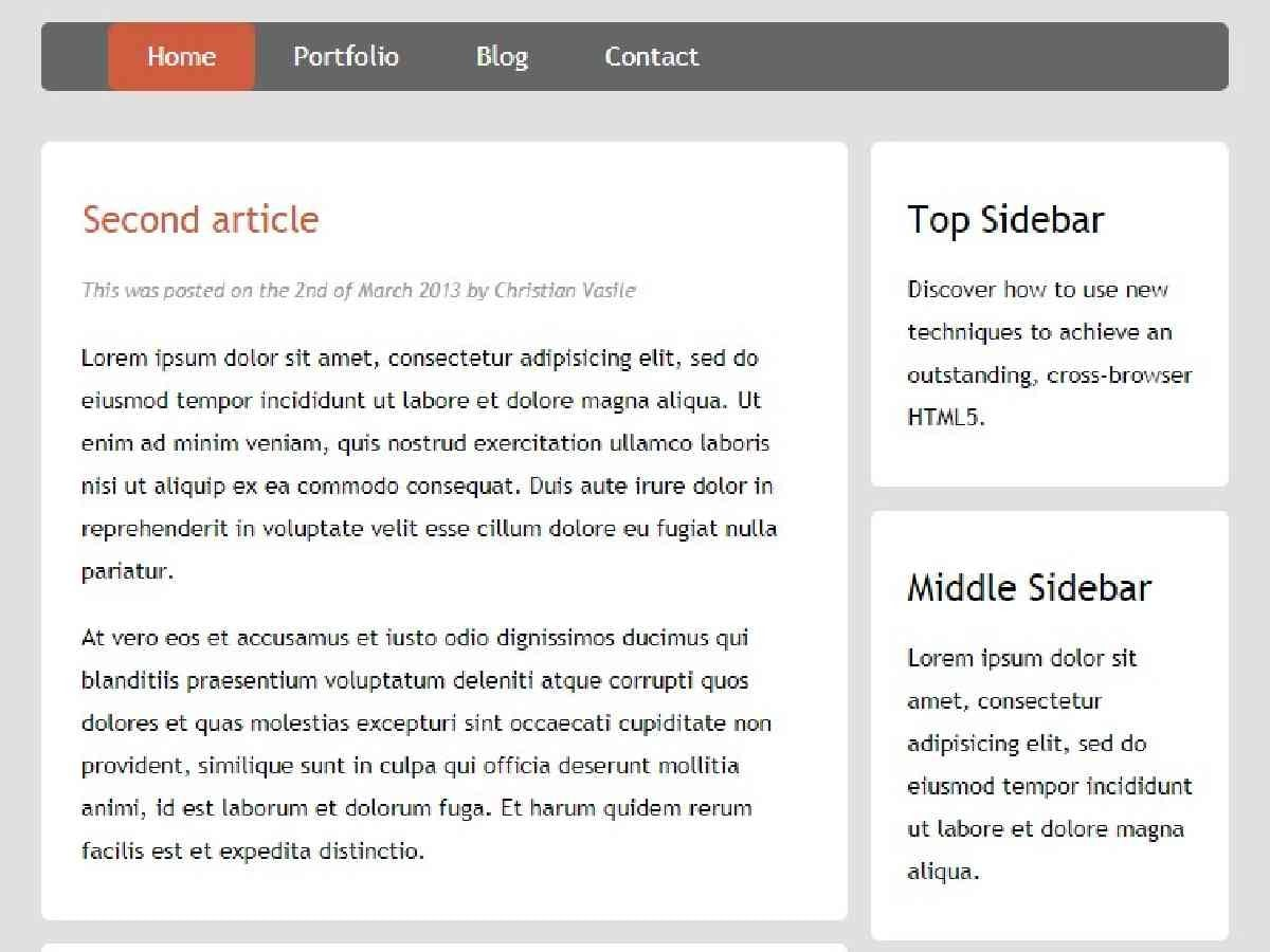 Template blogger responsive