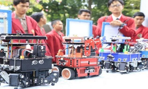 Indonesia juara kontes robot