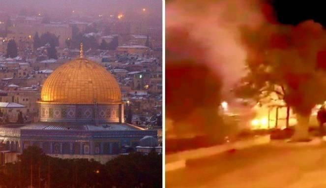 Masjid Al-Aqsa kebakaran