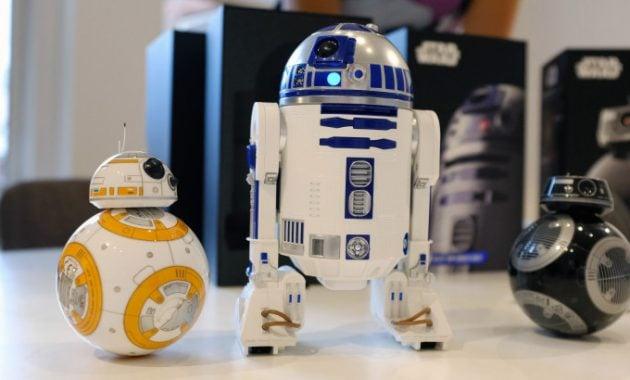 Robot droid R2-D2