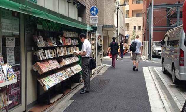Jalanan di Jepang bersih bebas sampah