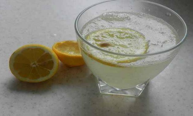 Jus lemon untuk asam urat