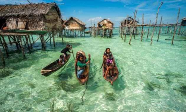 Penduduk Kota Samporna