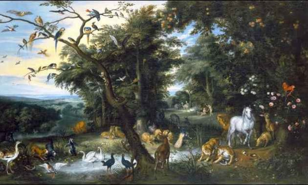 Lokasi Surga Taman Eden