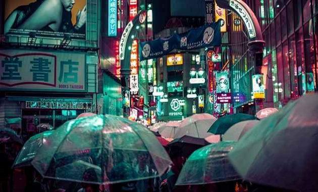 Payung gratis di Jepang