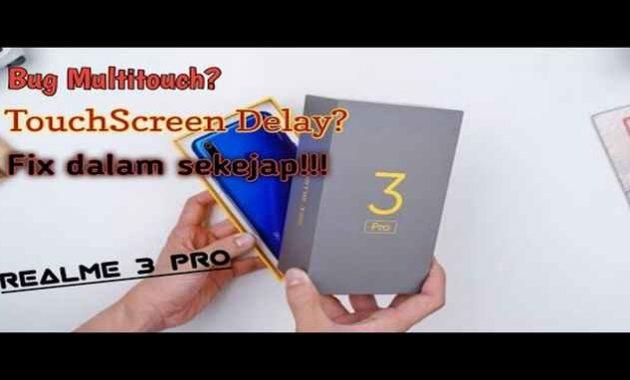 Kerusakan pada ponsel Realme 3 Pro