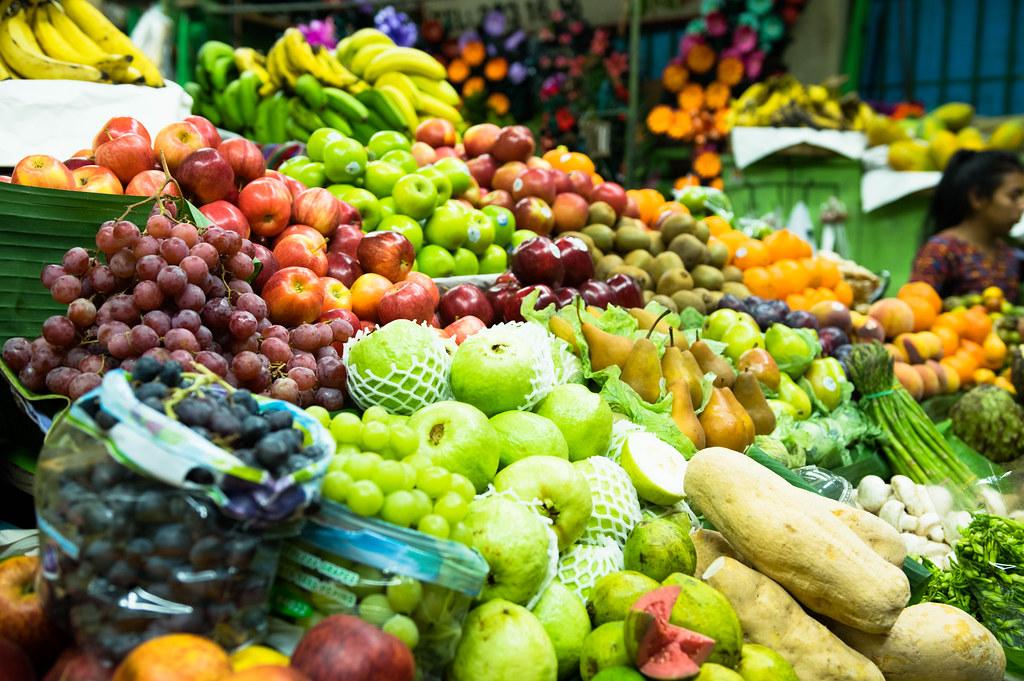 Buah dan sayur-sayuran